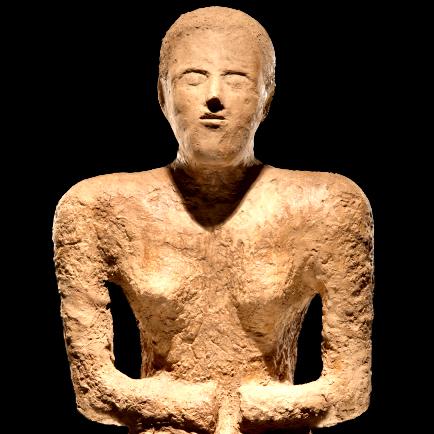 Statue funéraire du site iranien de Shahdad