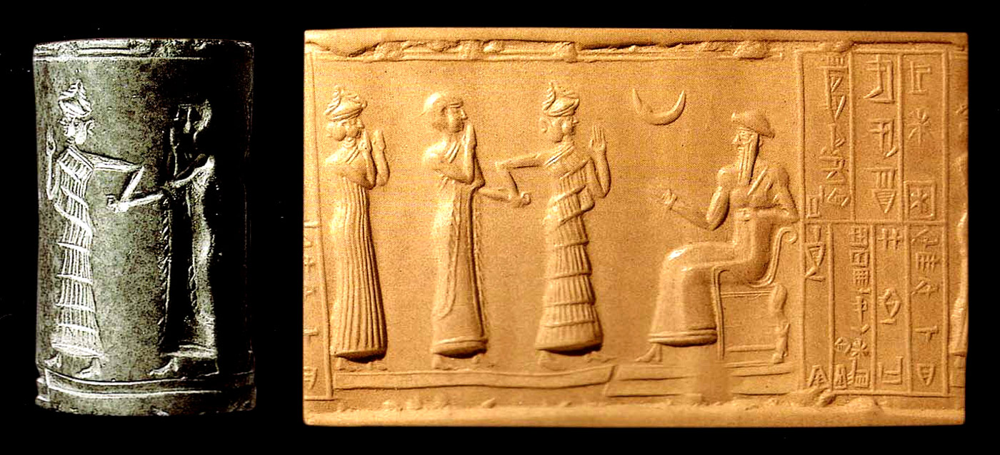 sceauc-cylindre de la 3ème dynastie d'Ur