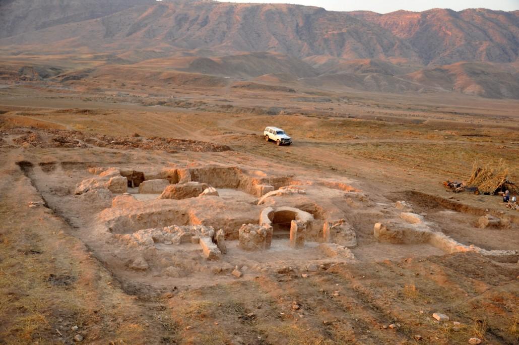 Excavations in the Sassanid site of Barz Qawaleh (Seymareh valley, Iran)