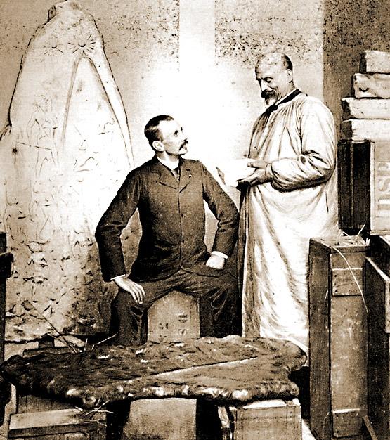 J. de Morgan et V. Scheil parmi les trésors de Suse