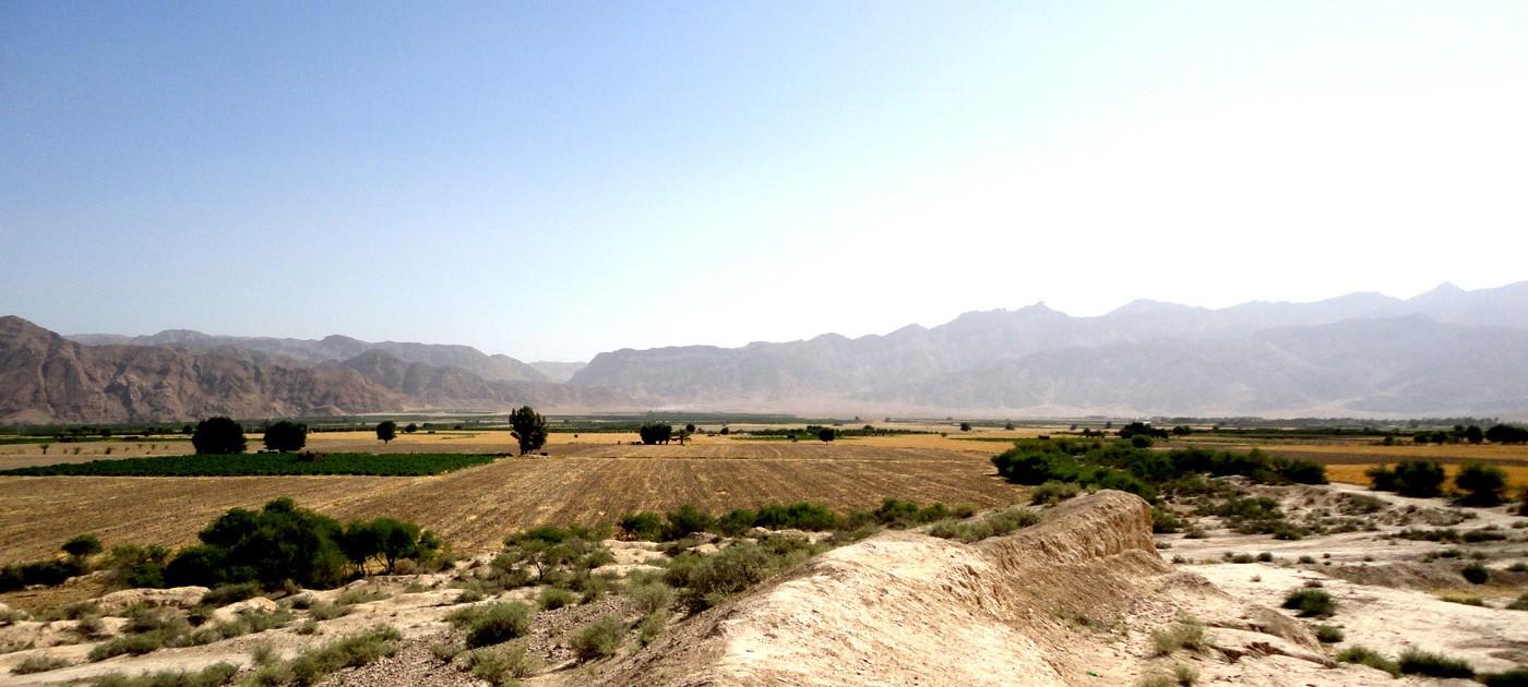 Vue de la plaine de Forg