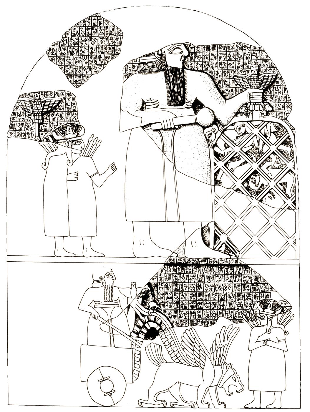 Stèle des vautours (Eannatum de Lagash, vers 2450 av. J.-C.)